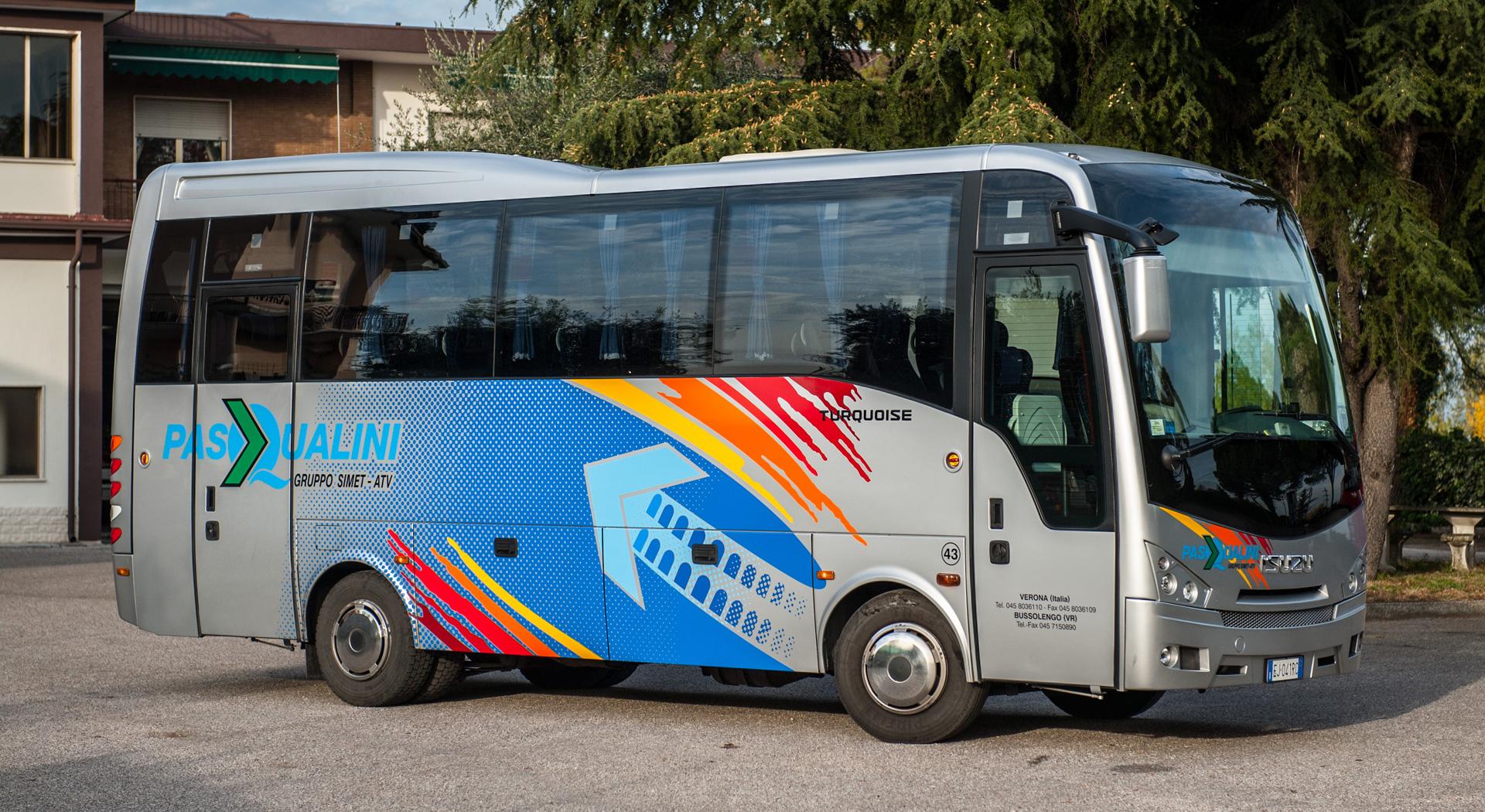 Pasqualini Autobus Verona - Isuzu Turquoise 1